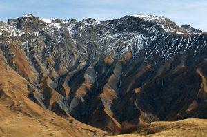Geology - mountain strara